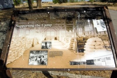 Supporting the Camp Marker image. Click for full size.