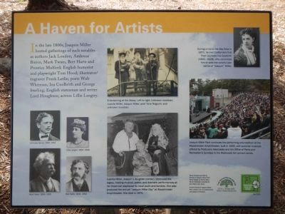 A Haven for Artists Marker image. Click for full size.