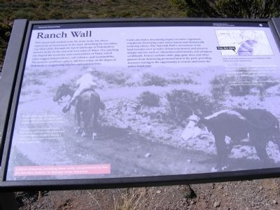 Ranch Wall Marker image. Click for full size.