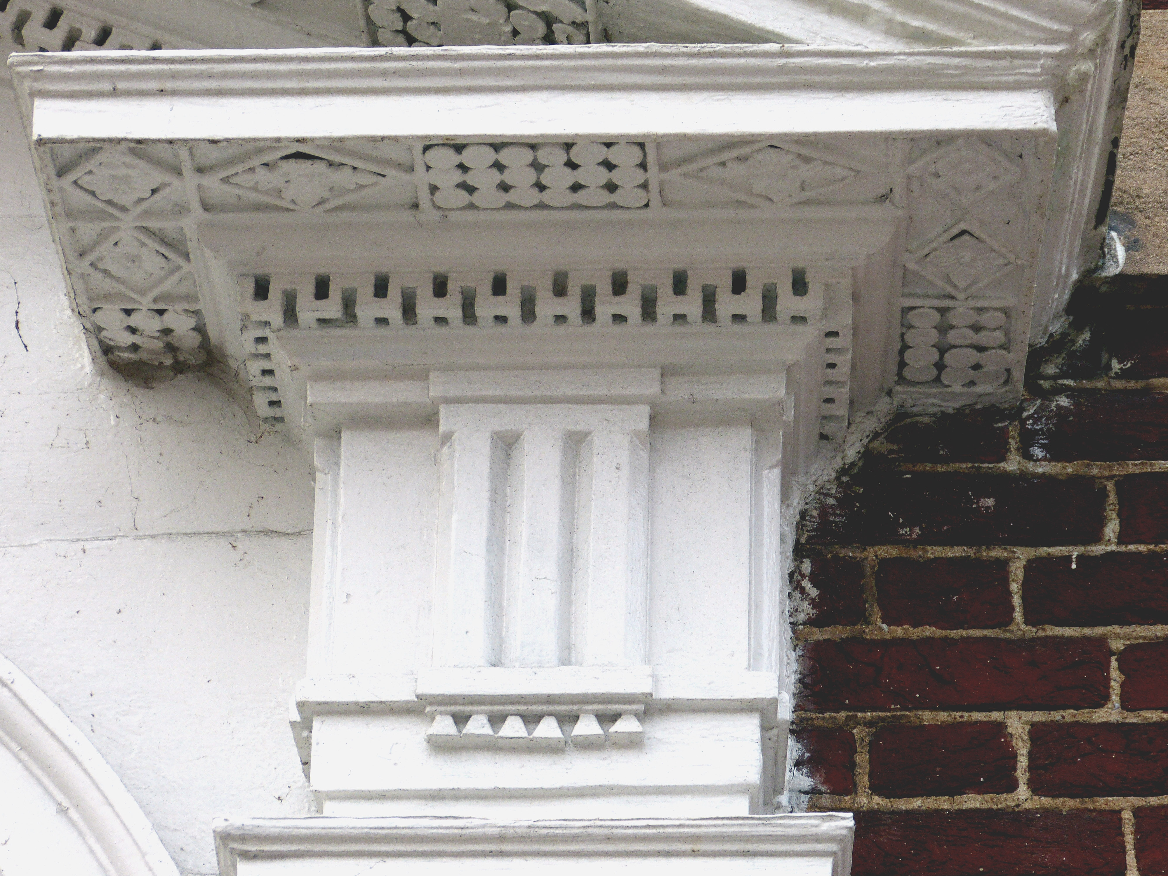 Elaborately Carved Cornice