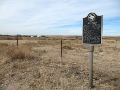 Fletcher and Donley Stage Station Marker image. Click for full size.
