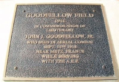 Goodfellow Field Marker image. Click for full size.