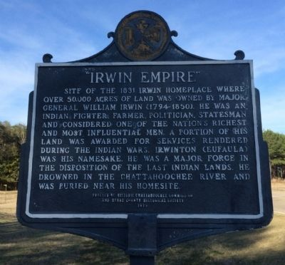 Irwin Empire Marker image. Click for full size.