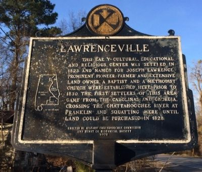 Lawrenceville Marker image. Click for full size.