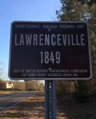 "Lawrenceville designated a ""Dead Town"" image. Click for full size."