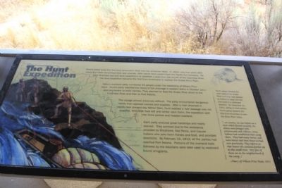 The Hunt Expedition Marker image. Click for full size.