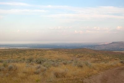 View to Northwest from Bonneville Point Interpretive Site image. Click for full size.