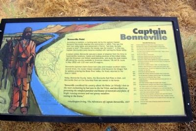 Captain Bonneville Marker image. Click for full size.