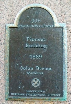 Pioneer Building Marker image. Click for full size.