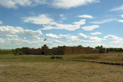 Bent's Old Fort image. Click for full size.