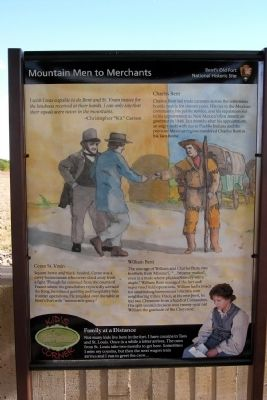 Mountain Men to Merchants Marker image. Click for full size.