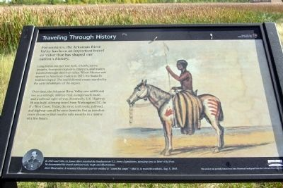 Traveling Through History Marker image. Click for full size.