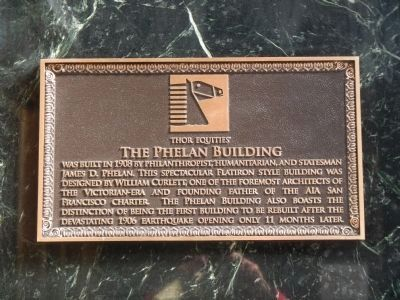 Phelan Building Marker image. Click for full size.