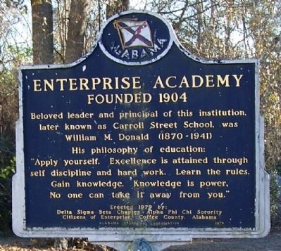 Enterprise Academy Marker image. Click for full size.