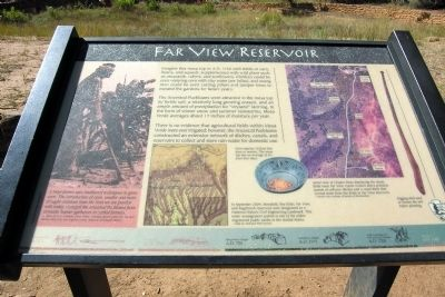Far View Reservoir Marker image. Click for full size.