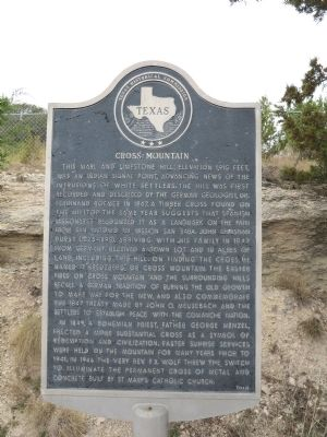 Cross Mountain Marker image. Click for full size.