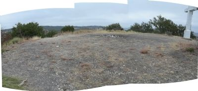 View of top of Cross Mountain image. Click for full size.