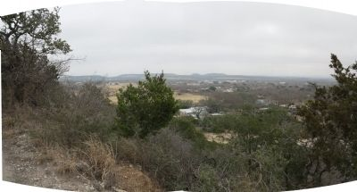 Panorama from top of Cross Mountain image. Click for full size.