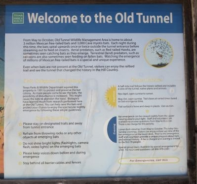 Welcome to the Old Tunnel Marker image. Click for full size.