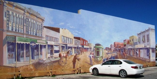 South Chadbourne 200 Block Early 1900's Mural image. Click for full size.