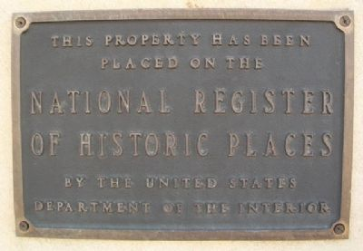San Angelo National Bank Bldg NRHP Marker image. Click for full size.