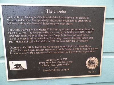 The Gazebo Marker image. Click for full size.