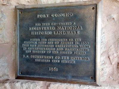 Fort Concho National Historic Landmark image. Click for full size.