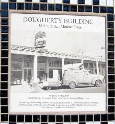 Dougherty Building Marker image. Click for full size.