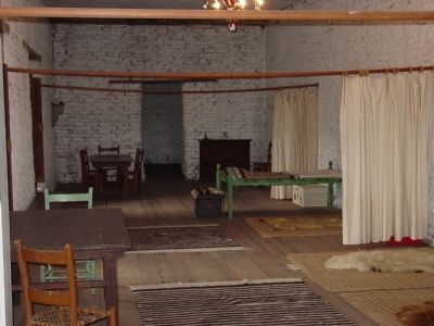 Inside Vallejo's Petaluma Adobe image. Click for full size.