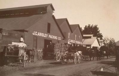 J.C. Ainsley Packing Company image. Click for full size.