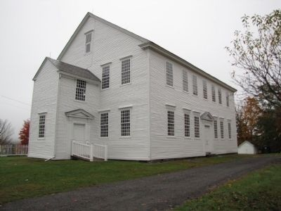 Rockingham Meeting House image. Click for full size.