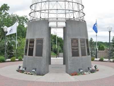 Veterans Memorial Wall of Honor image. Click for full size.
