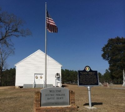 Rutledge Primitive Baptist Church image. Click for full size.