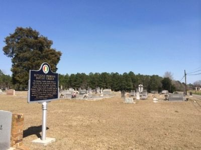 Rutledge Primitive Baptist Church Cemetery image. Click for full size.