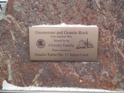 Greenstone and Granite Rock image. Click for full size.