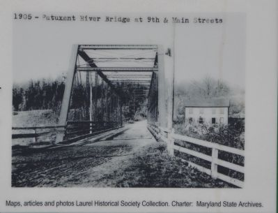 Patuxent River Bridge at 9th and Main Streets image. Click for full size.