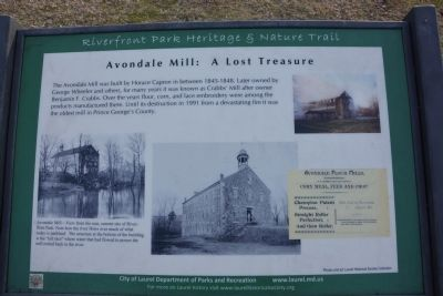 Avondale Mill: A Lost Treasure Marker image. Click for full size.