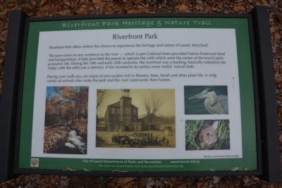 Riverfront Park Marker image. Click for full size.