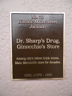 Dr. Sharp's Drug Marker image. Click for full size.