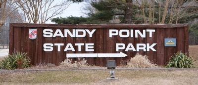Sandy Point State Park image. Click for full size.