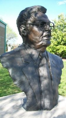 Bust of John Q. Hammons image. Click for full size.