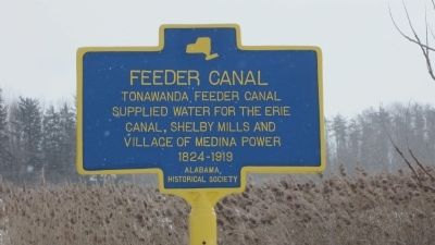 Feeder Canal Marker image. Click for full size.