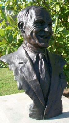 Bust of Norman E. Stewart image. Click for full size.