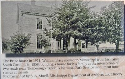 The Brice House in 1921 image. Click for full size.