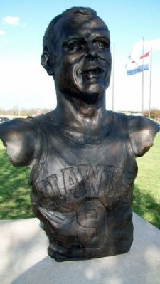 "Bust of Robert L. ""Bob"" Pettit Jr. image. Click for full size."