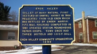 Enon Valley Marker image. Click for full size.