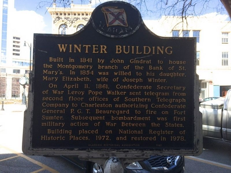 Winter Building Marker (Reverse side of main marker) image. Click for full size.