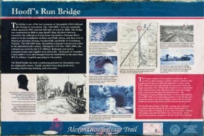 Hooff's Run Bridge Marker image. Click for full size.