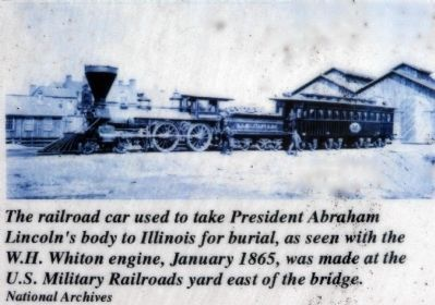 Lincoln Railroad Car image. Click for full size.