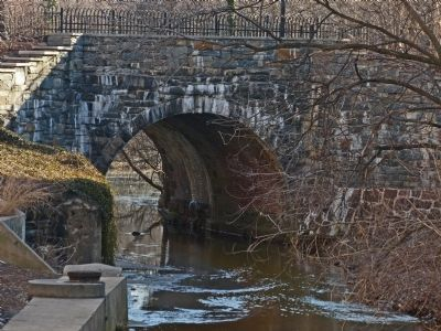 Hooff's Run Bridge image. Click for full size.